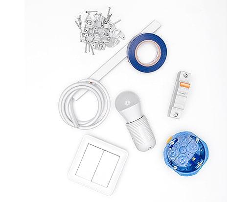 Material für Elektroinstallationen von Rümenap
